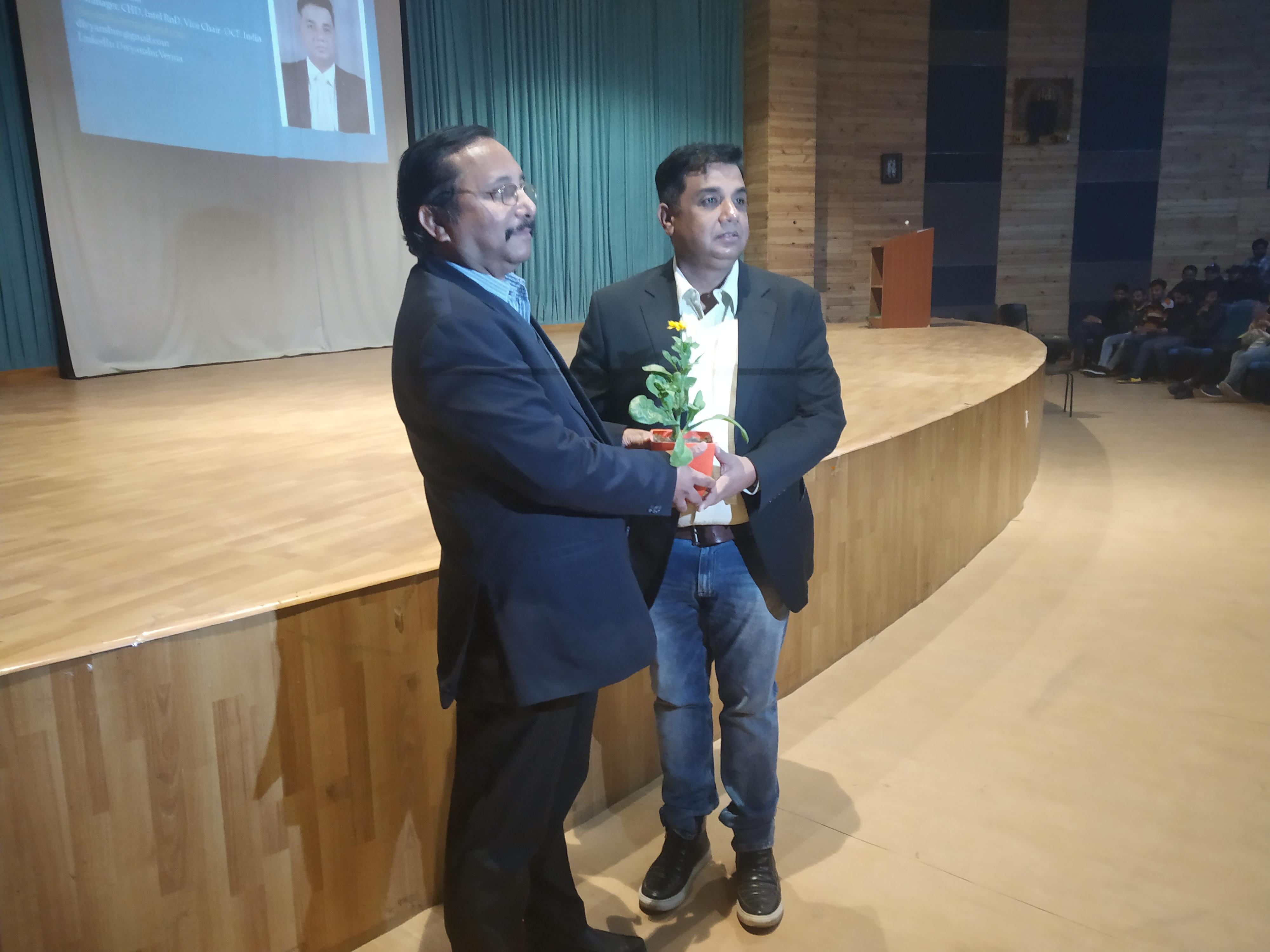 Expert Lecture By Mr. Divyanshu Verma (IITD & IIM B), Sr, Manager Intel Technologies Bangalore