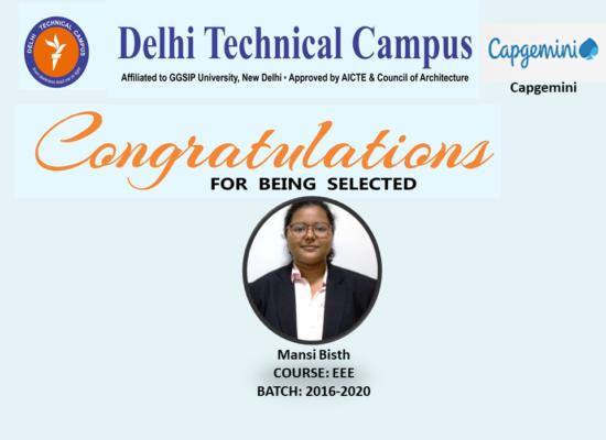 Congratulation Mansi